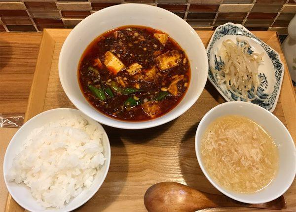 Aランチ・麻婆豆腐