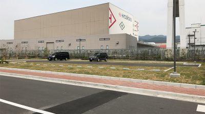 キューピー神戸工場・工場見学者用駐車場