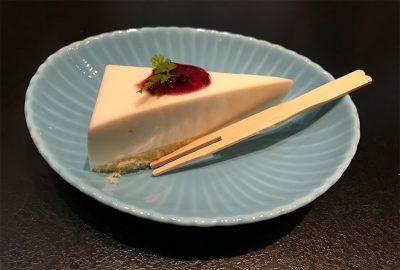スイーツ・レアチーズケーキ