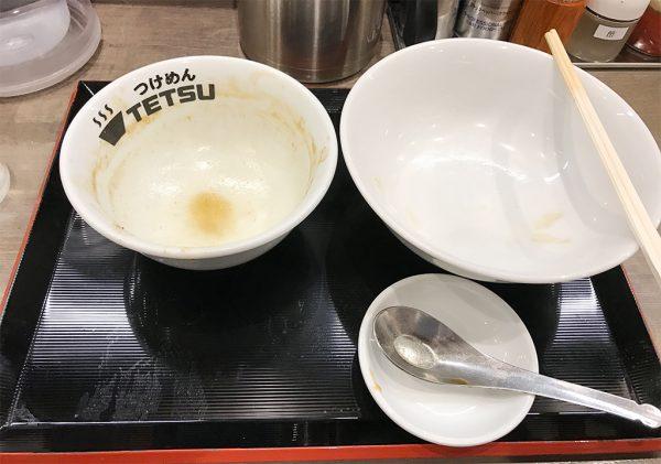 つけめんTETSU(テツ)完食