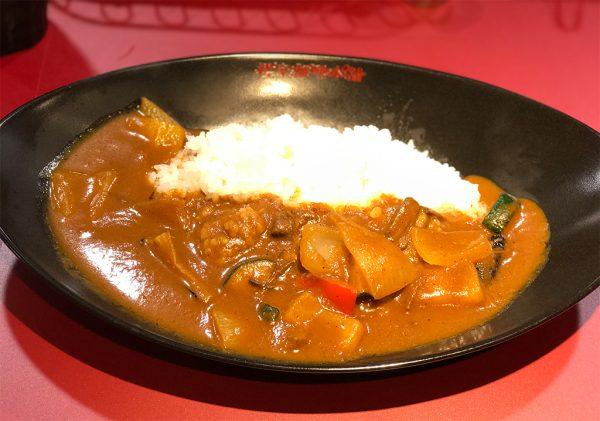 櫻家伽哩本舗・季節の野菜カレー