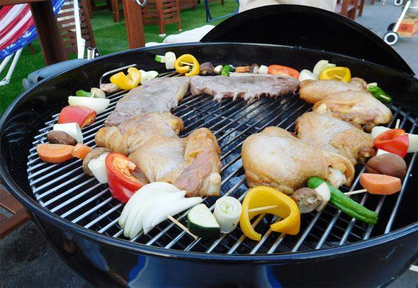 BBQ蒸し焼き