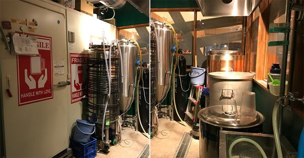 テタールヴァレ自家製クラフトビール工場