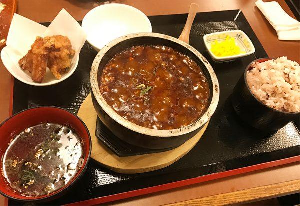 石焼麻婆豆富定食