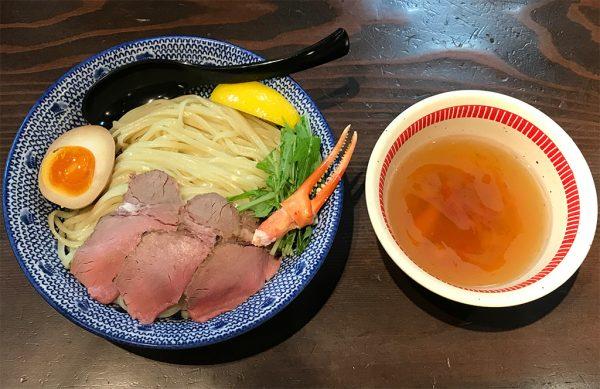 すっごいズワイ蟹の冷しつけ麺