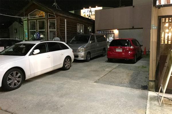 山神山人 駐車場