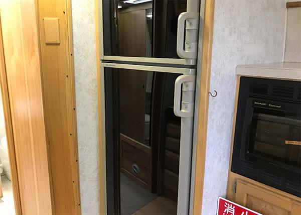 エアストリーム 冷蔵庫