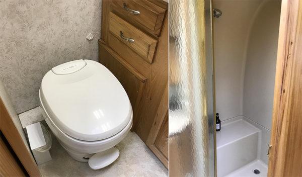 エアストリーム トイレ シャワー