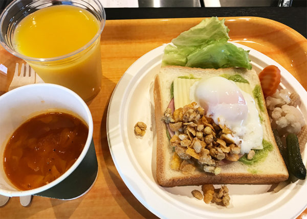 パームガーデン舞洲 朝食 完成