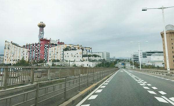 舞洲大橋 ゴミ処理場