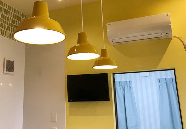 テレビ エアコン完備