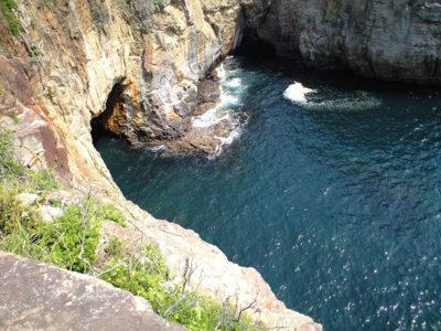 和歌山 白浜 三段壁 洞窟