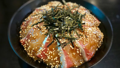 海中魚処 萬坊 鰤丼