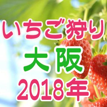 いちご狩り 大阪 2018