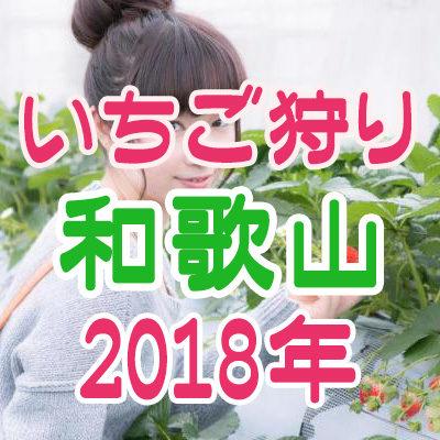 いちご狩り 和歌山 2018