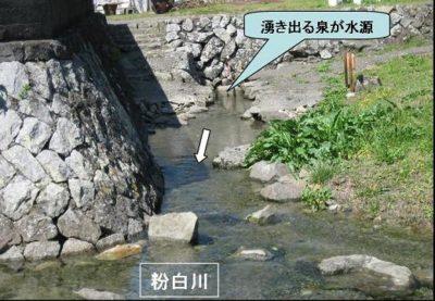 和歌山 日本一短い川 ぶつぶつ川