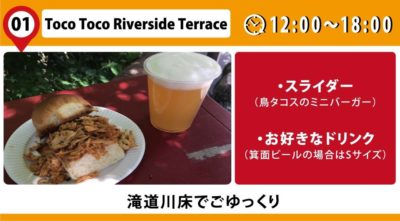 Toco Toco Riverside Terrac