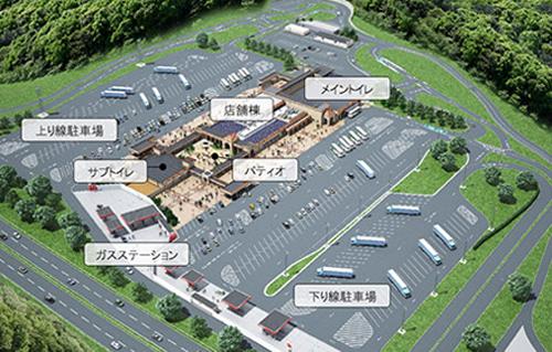 新名神高速道路 宝塚北サービスエリア SA オープン 店舗一覧 開通
