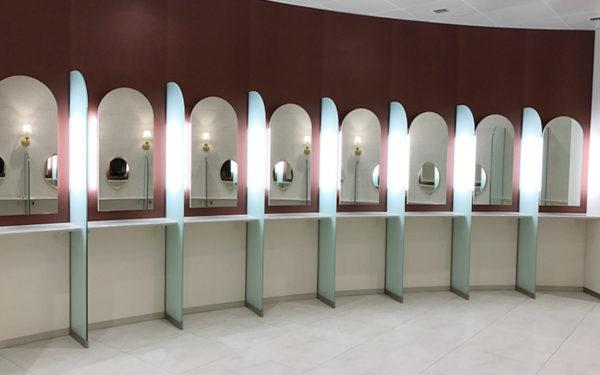 新名神高速道路 宝塚北サービスエリア SA オープン 店舗一覧 開通 女子トイレ パウダーコーナー