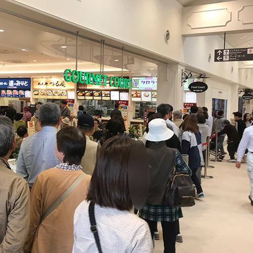 宝塚北サービスエリアの混雑状況[平日お昼]