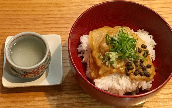 折々 まつ菜 バルメニュー 日本酒 鯛茶漬け
