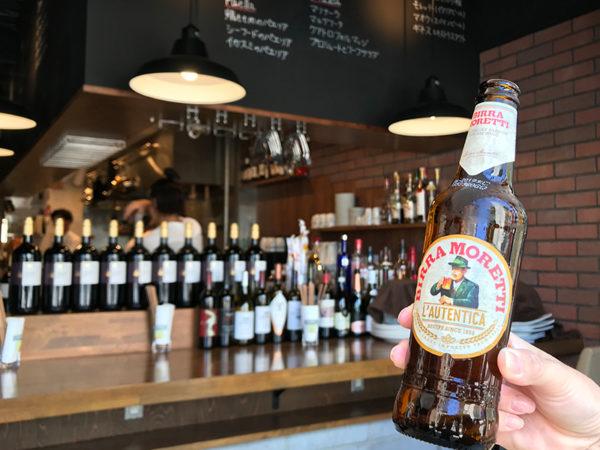 宝塚バル ワイン食堂 Enoteca Bacco エノテカ バッコ 追加メニュー ビール