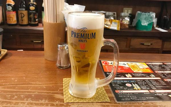 宝塚バル 2018 さんさん堂 生ビール