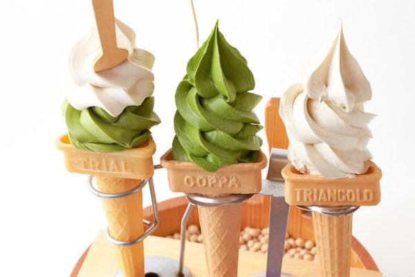 嵐山 京豆庵 お豆腐ソフトクリーム