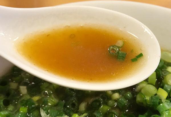 和歌山ラーメン まるイ ラーメン スープ