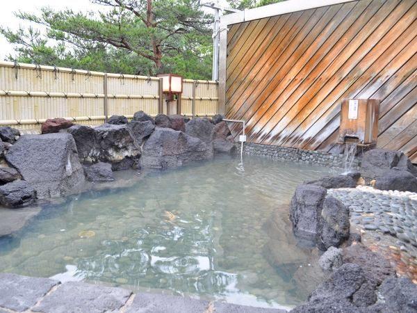 北海道 ながぬま温泉 源泉かけ流し 露天風呂