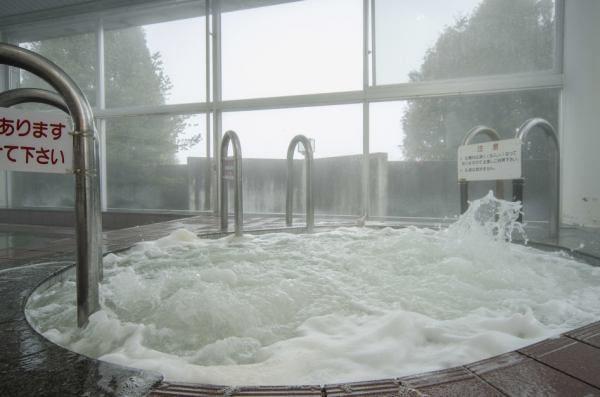 北海道 ながぬま温泉 ジャグジー