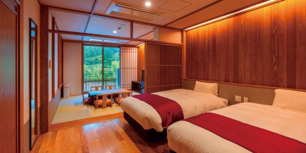 高知 北川村温泉 ゆずの宿 客室