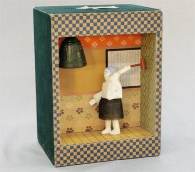奈良町からくりおもちゃ館 鐘打ち人形