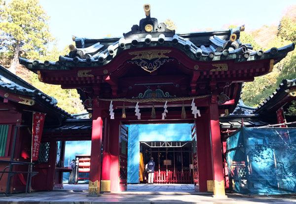 箱根神社 拝殿 本殿