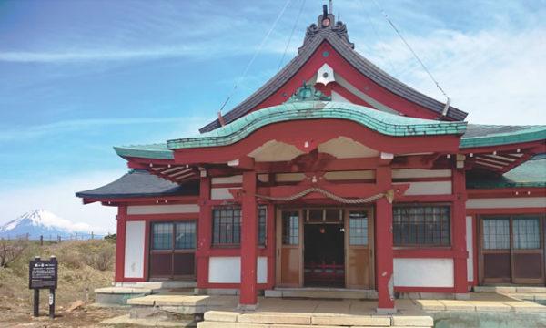 箱根元宮 天空の社殿 駒ヶ岳ロープウェイ