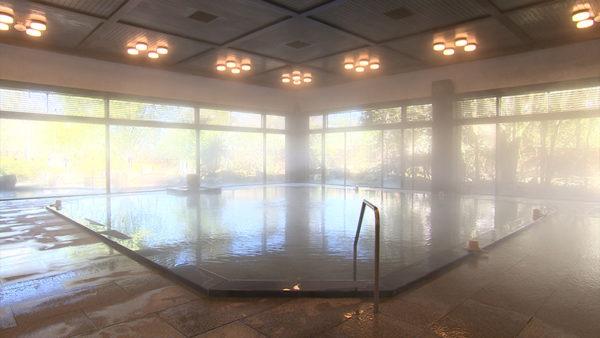 加賀 山代温泉 みやびの宿 加賀百万石 大浴場 源泉掛け流し