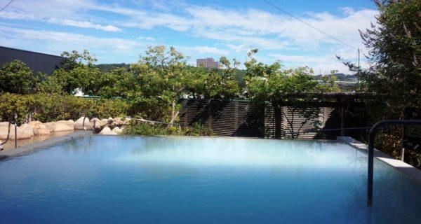 神戸 垂水 ジェームス山 天然温泉 月の湯船 露天風呂 望の湯
