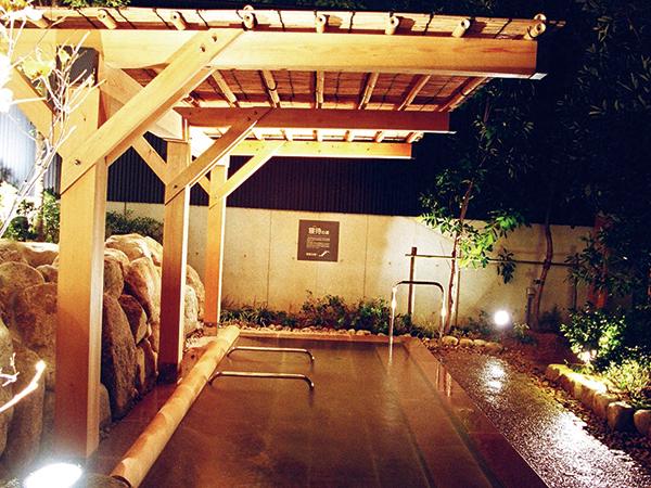 神戸 垂水 ジェームス山 天然温泉 月の湯船 露天風呂 寝待の湯