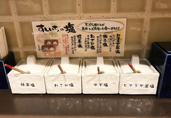天ぷら塩 立ち食い寿司屋 立ち飲み すしいち