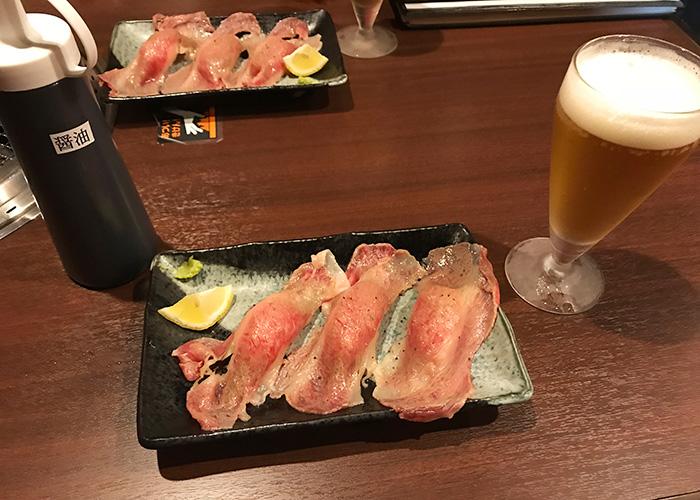 焼肉 樂 炙り焼しゃぶ寿司 明石まちなかバル 2019 春