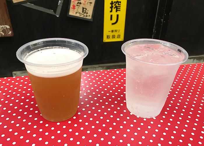 明石鮪屋の食堂 クラフトビール 酎ハイ 明石まちなかバル 2019 春
