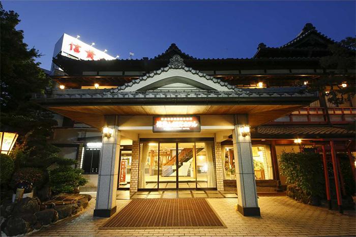 奈良 信貴山 観光ホテル 外観