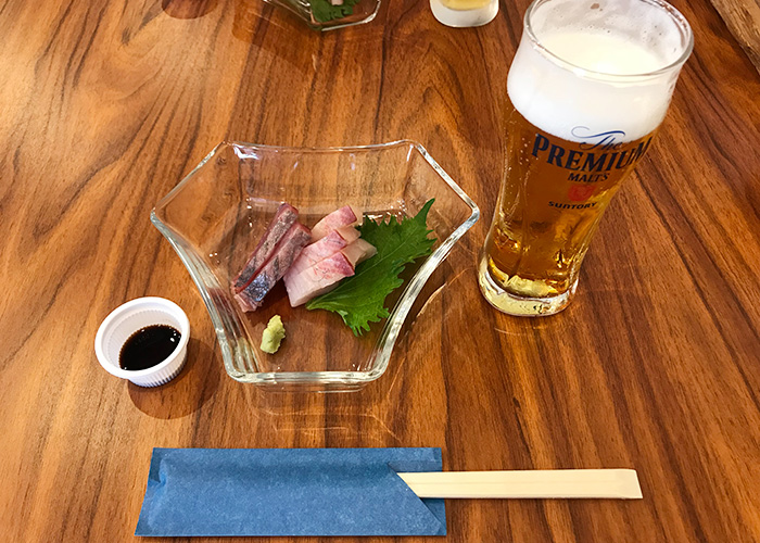 生ビール 鮮魚のお造り 日本酒と旬彩 殿と美 宝塚バル 2019 逆瀬川 小林 仁川