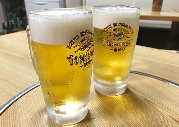 名物チャンソバ まつしま 生ビール 宝塚バル 2019 逆瀬川 小林 仁川