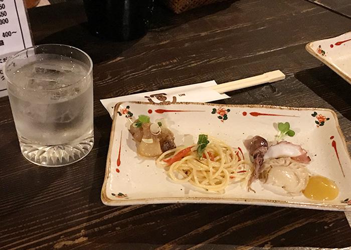 居酒屋 運 酒と肴セット 運特製オードブル 宝塚バル 2019 逆瀬川 小林 仁川