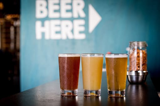 用宗みなと温泉 クラフトビールWEST COAST BREWING