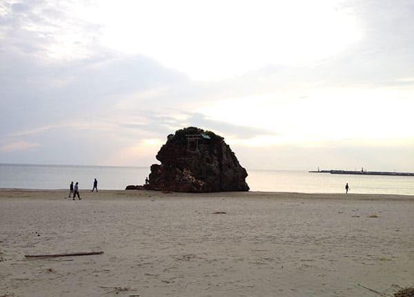 島根 出雲 引佐の浜