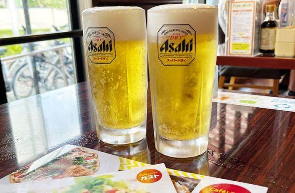 ガスト 宝塚南口 ハッピーアワー 生ビール