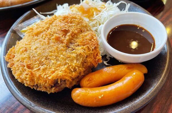 ガスト 宝塚南口 チーズINメンチカツ
