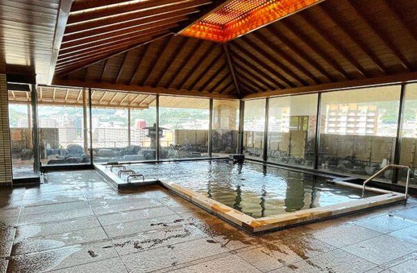宝塚 宝塚温泉 旅館 ホテル若水 展望大浴場